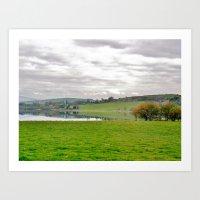 Ireland: Lake Art Print