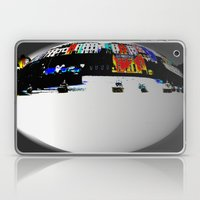 Boats In The Habour Laptop & iPad Skin