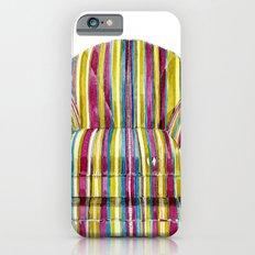 Last Chair Before Niagara Falls. iPhone 6 Slim Case
