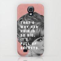 Galaxy S4 Cases featuring Full of Secrets by Zeke Tucker