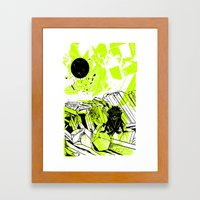 Depression On A Lonely P… Framed Art Print