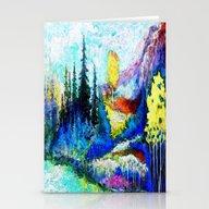 Blue Mountain Aspens Lan… Stationery Cards