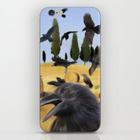 Crows In Tuscany iPhone & iPod Skin