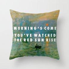 Obvious Impression Throw Pillow