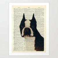 American Gentleman Art Print