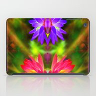 Pink And Purple Lotus iPad Case