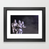 Only Imperial Stormtroop… Framed Art Print