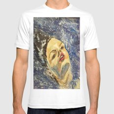 SUR LA MER Mens Fitted Tee SMALL White