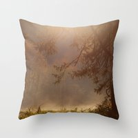 Throw Pillow featuring Peaceful Moments by Karol Livote