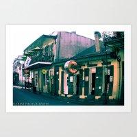 Bourbon Street. Art Print