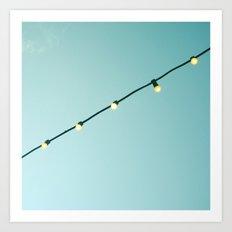 Lights by Day Art Print
