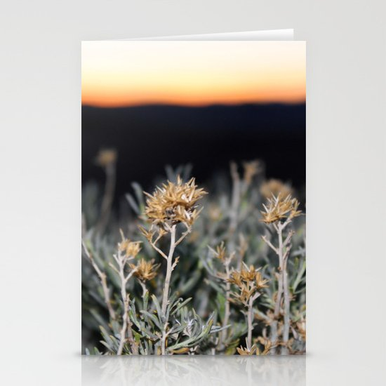 Sagebrush Stationery Card