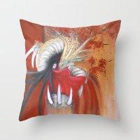 Kinryu-No-Mai Throw Pillow