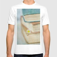 Read Mens Fitted Tee White SMALL