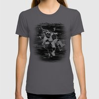 Diver Womens Fitted Tee Asphalt SMALL