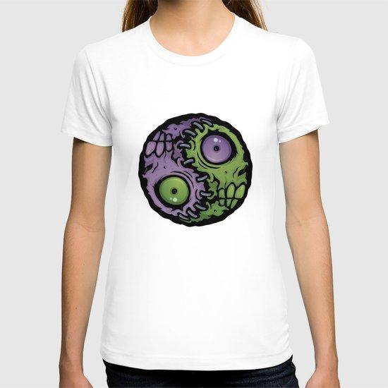 Zombie Yin-Yang T-shirt