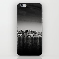 Chicago Skyline at Night iPhone & iPod Skin