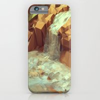 iPhone Cases featuring Diamantina [Waterfalls] by Timothy J. Reynolds