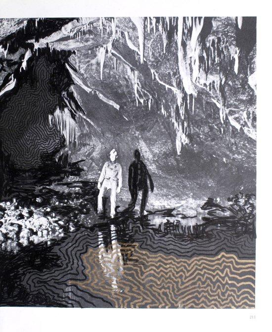 Cave Drawing I Art Print