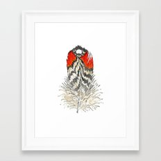 Red Feather - 03 Framed Art Print