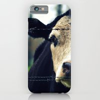 iPhone & iPod Case featuring Moo Cow I by RDelean
