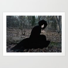 The Witch in the Woods Art Print