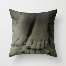 StoneFeet2 Throw Pillow