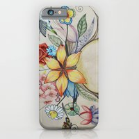 iPhone & iPod Case featuring spring by Annie illustrations