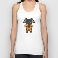 Paco Love Pizza Unisex Tank Top