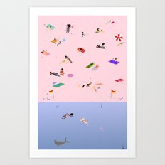 Coogee Beach Art Print