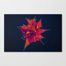 Architecture Polygons Canvas Print