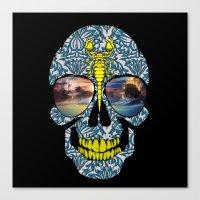 DEAD SKULL  Canvas Print