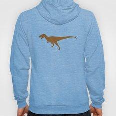 T-rex Orange Dinosaur Hoody