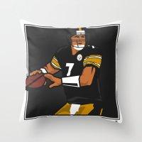 Big Ben - Steelers QB Throw Pillow