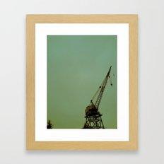 Swing Low Framed Art Print