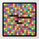 Wordsearch Love: Happy Birthday To You Canvas Print