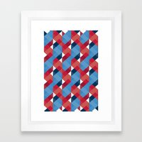 Up is down & down is up Framed Art Print