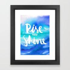 Rise & Shine [Collaborat… Framed Art Print