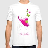 Laetitia Mens Fitted Tee White SMALL