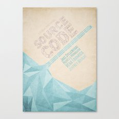 Source Code - minimal poster Canvas Print