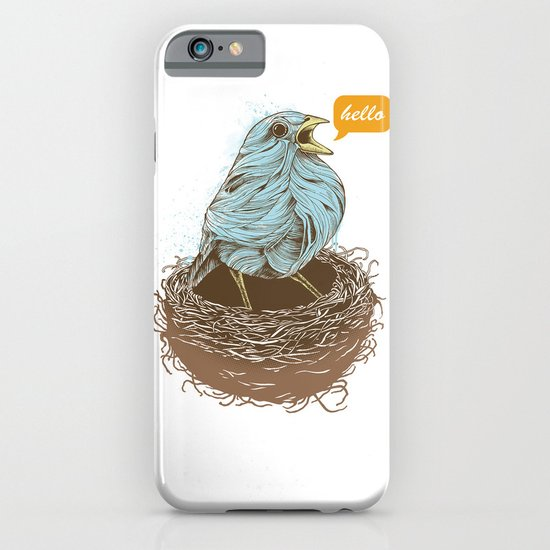 Twisty Bird iPhone & iPod Case