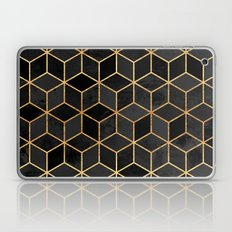 Black Cubes Laptop & iPad Skin