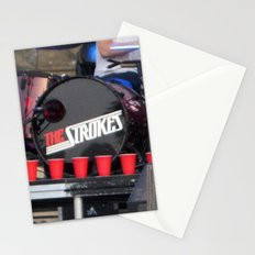 Red Solo - The Strokes Stationery Cards