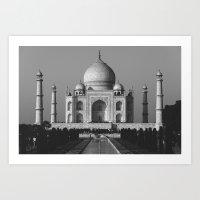 Taj Art Print