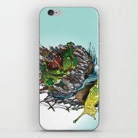 The Church is on Fire iPhone & iPod Skin