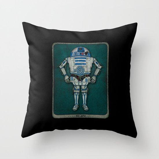 R2 3PO Throw Pillow