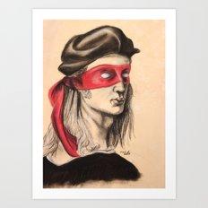 Raph TMNT Art Print