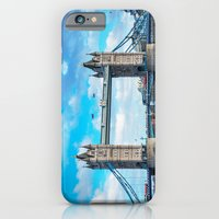 iPhone Cases featuring London's Tower Bridge by Don Davies