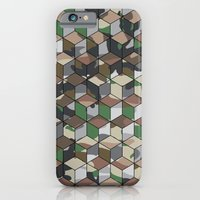 iPhone & iPod Case featuring CUBOUFLAGE MULTI (MEDIUM) by Oreezy