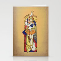 Her Codename - Sailor Ve… Stationery Cards